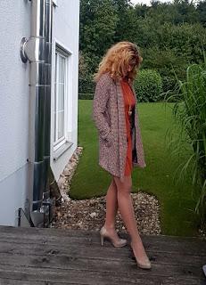 Kleid von Esprit und edc by Esprit Strickjacke