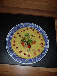 Brokkoli Suppe mit Lauch
