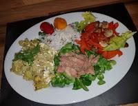 Fenchel-Staudensellerie-Gemüse mit Thunfisch