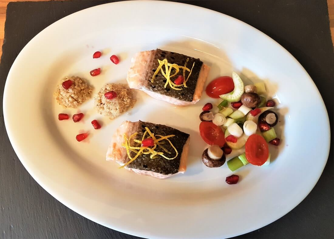 Lachs, Low Carb, Marinierter Lachs, Lachs in Champagner