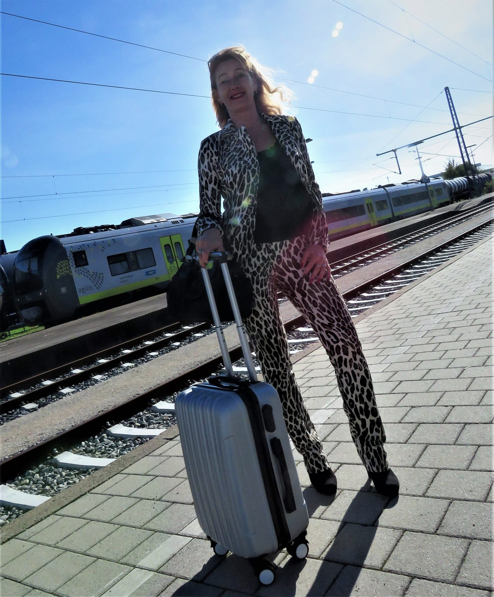 Animal Print; Stylischer Animal Print, Anzug im angesagten Animal Print, Silvia Top Age