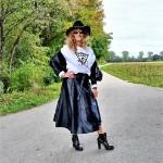 Leder-Outfit
