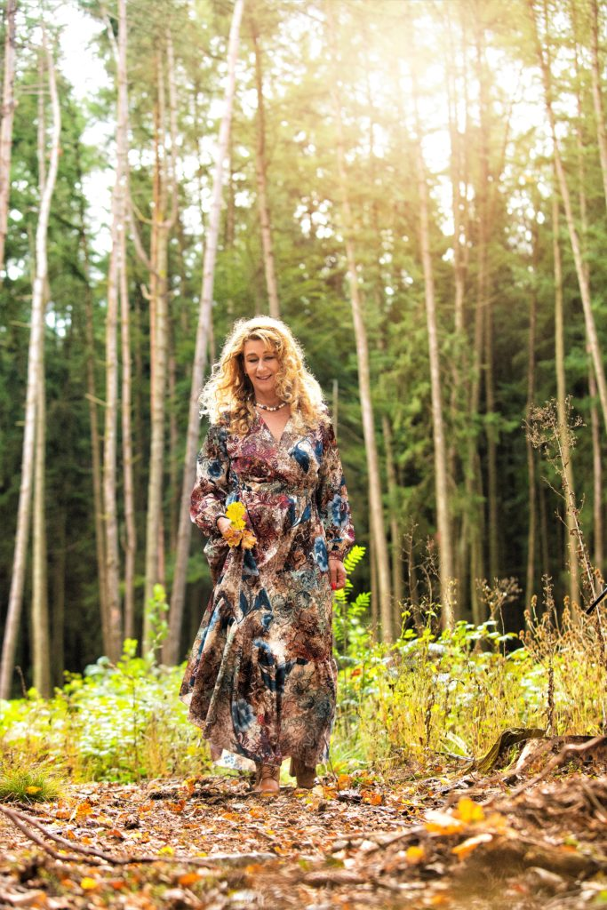 Herbst-Shooting im Wald